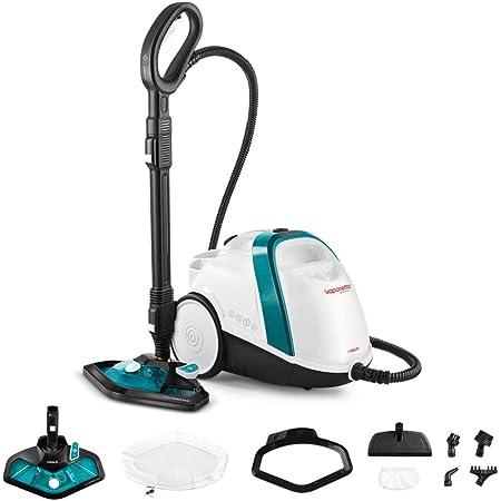 Polti Vaporetto Smart 100_T Limpiador a vapor, autonomía ilimitada con carga continua, caldera de alta presión, 4 bar, 9 accesorios