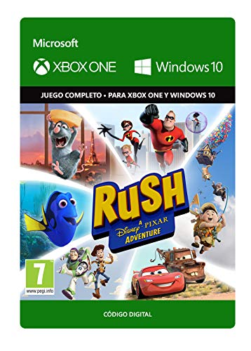 Rush: A Disney Pixar Adventure  | Xbox One/Windows 10 PC - Código de descarga