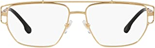 VE1257 Eyeglass Frames 1410-55 - Matte Gold VE1257-1410-55