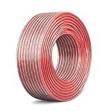 YFF 無酸素純銅スピーカーケーブル 高純度OFC 錫メッキ銅スピーカーケーブル (05M, 16AWG)