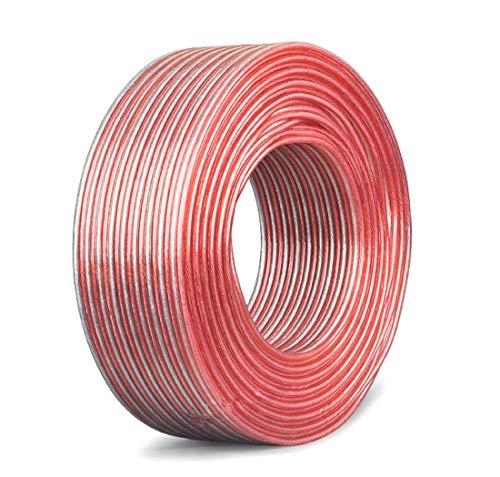 YFF無酸素純銅スピーカーケーブル高純度OFC錫メッキ銅スピーカーケーブル(16AWG-05M)