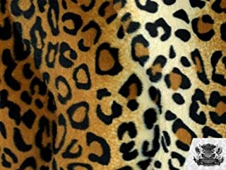 cheetah faux fur fabric