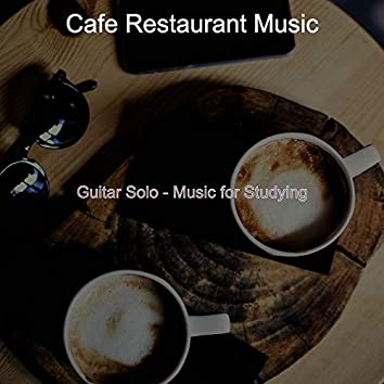 Guitar Solo - Music for Studying