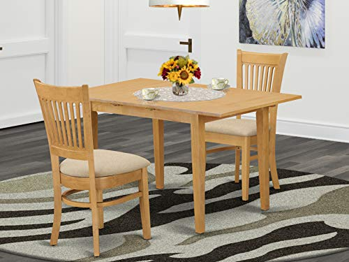 3 Pc Dining Room Set Small Dining Table And 2 Dinette Chairs Buy Online In Aruba East West Furniture Products In Aruba See Prices Reviews And Free Delivery Over 120 ƒ Desertcart