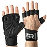 Best Crossfit Gloves - GRASSVERY Fingerless Weight Lifting Gym Workout Gloves Review