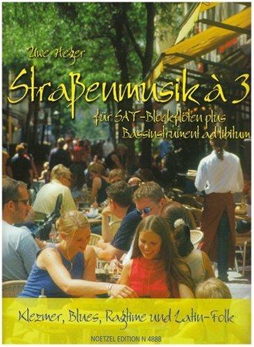 Strassenmusik a 3 Heft 1. Blockflöte