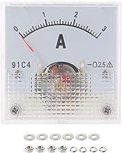 Analog AMP Panneau Mètre Courant Ampèremètre DH-670 DC 0-50 A