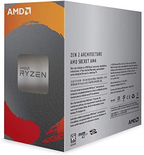 AMD Ryzen 5 3500 Desktop Processor 6 Cores up to 4.1 GHz 19MB Cache AM4 Socket (100-000000050)