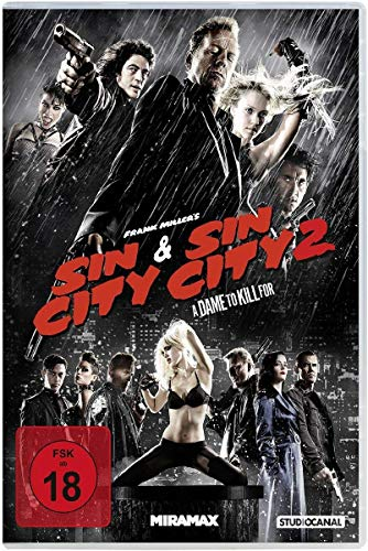 Sin City & Sin City 2: A Dame to Kill For [2 DVDs]