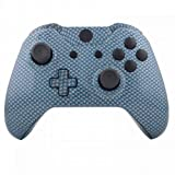xbox one carbon fiber shell - ModFreakz® Shell Kit Hydro Dipped Blue Silver Carbon Fiber For Xbox One Model 1537 Controllers