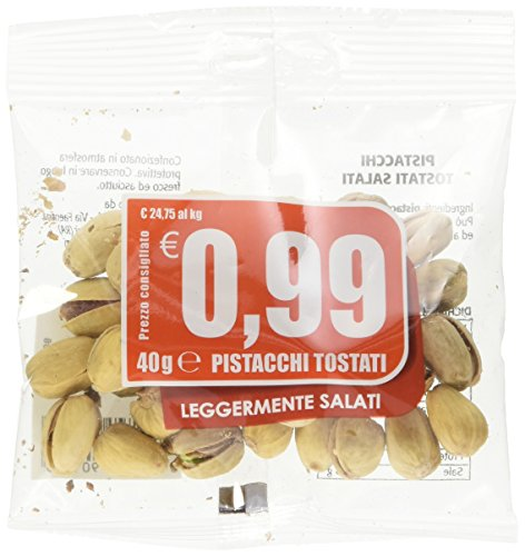 Eurocompany Pistacchi Tostati e Salati - 40 gr