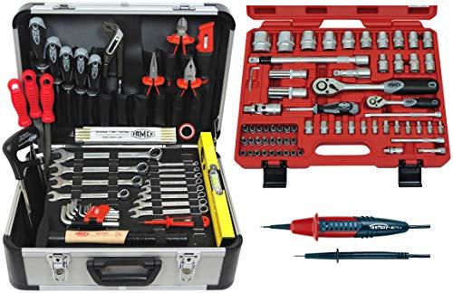 FAMEX 729-23 Alu Werkzeugkoffer Set...