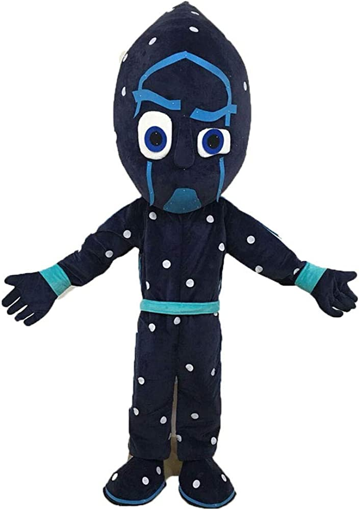 Night Ninja Costume Full Body Mascot Adult safety Fancy Dre 2021 spring and summer new