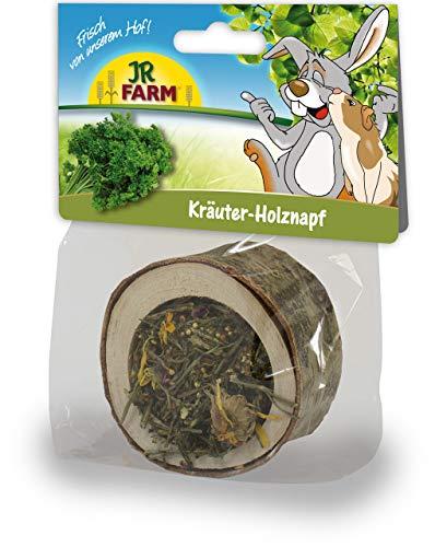 JR Farm Holznapf gefüllt mit Kräuter 120g