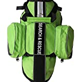 haoyueer Latest Search & Rescue Service Dogs Backpack Harness Vest Removable Saddle Bags with Label...