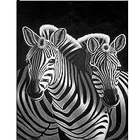 """大人のためのDIY5Dダイヤモンドペインティングフルキット 家庭用クリスタル刺繡クロスステッチアートクラフト 動物様々な動物かわいい動物-12""""x16"""" X0530"""