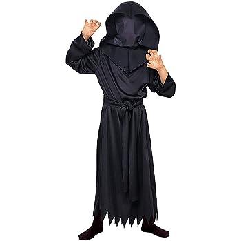 Halloween - Disfraz de El Hombre sin Rostro para niño, Talla TW ...
