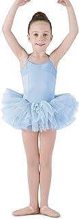 Bloch Mirella 女孩紧身胸衣背部吊带舞蹈短裙