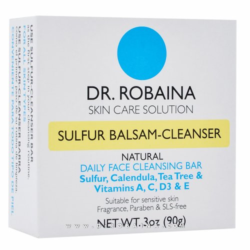 The value 'Dr. Robaina Skin Care Solution SULFUR BALSAM Cleanser Daily Face and Body Cleansing Bar Suitable for sensitive skin (Eczema, Psoriasis, Rosacea, Dermatitis, dry itchy) 3 oz (90g)' specified cannot be used as it conflicts with the value 'SULFUR BALSAM Cleanser' for ASIN 'B00CXW1LQU' in the Amazon catalog. If this is ASIN 'B00CXW1LQU', update the value to match the ASIN data. If this is a different product, update identifying information (UPC/EAN/Part Number/etc.).