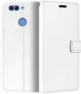جراب محفظة Huawei Nova 2 Plus، جراب قلاب مغناطيسي من الجلد الصناعي الممتاز مع حامل بطاقات ومسند لهاتف Huawei Nova 2 Plus