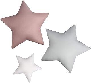 Lulando, Almohadas Estrellas, Stars Basic, Pack de 3