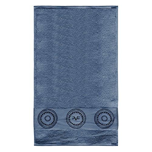 Versace 1969Handtuch, Frottee, Blau, 30x 50x 30cm