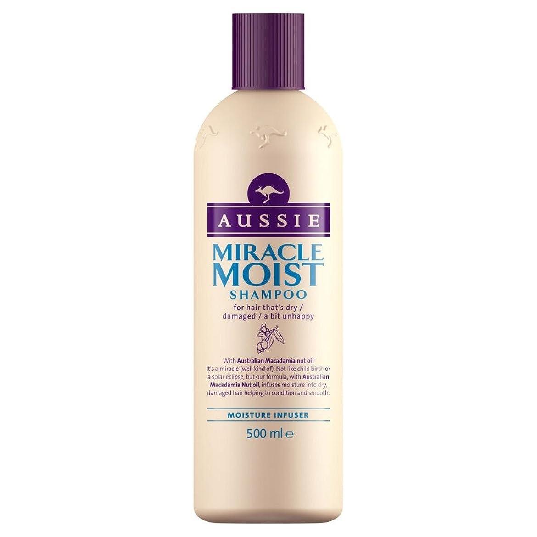 噴出する方向受動的Aussie Miracle Moist Shampoo (500ml) オージー奇跡湿ったシャンプー( 500ミリリットル) [並行輸入品]