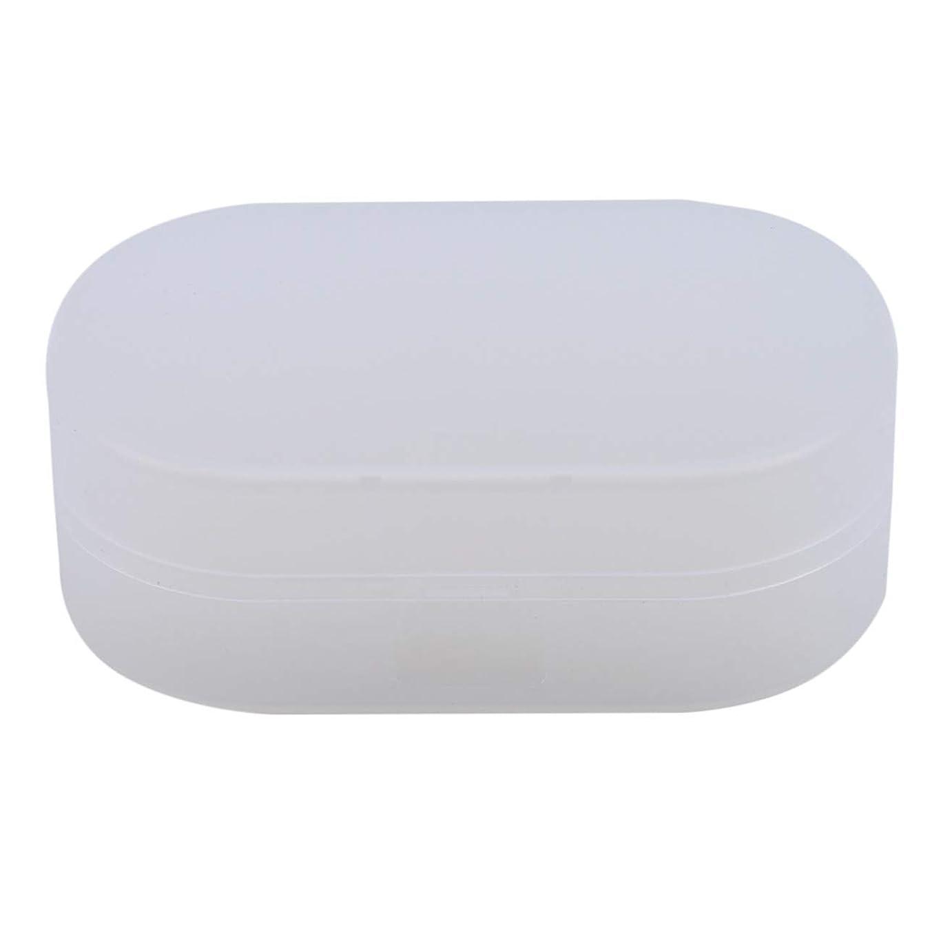 東レールウルルZALINGソープボックスホルダーソープディッシュソープセーバーケースコンテナ用バスルームキャンプホワイト