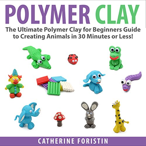 Polymer Clay audiobook cover art