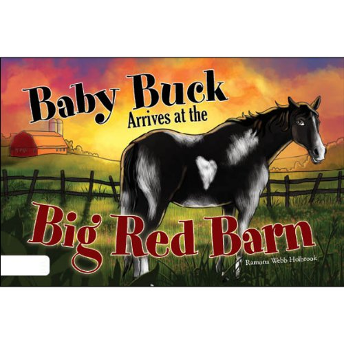 Baby Buck Arrives at the Big Red Barn audiobook cover art