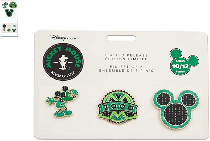 Disney Mickey Mouse Memories Pin Set October Limited Release