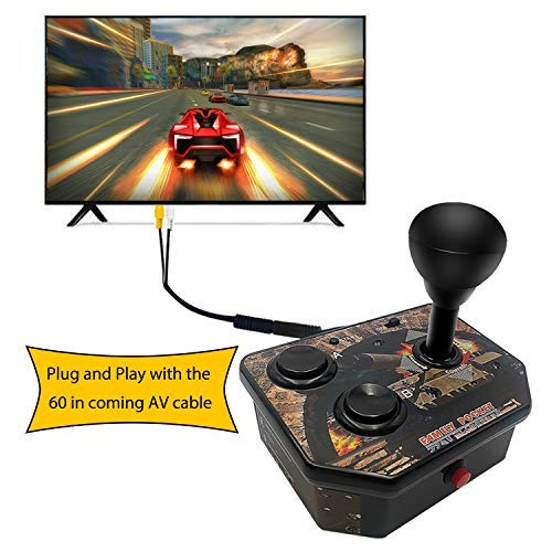 Easegmer Handheld Game Console for Kids, NPC Arcade Joystick Controller Built-in 180 Classic Video Games Retro Game Player Mini Gaming System Connect and Play TV Games Console Birthday Gifts for Kids