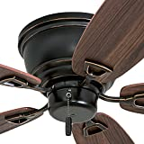 Honeywell Ceiling Fans 50516-01 Glen Alden Ceiling Fan, 52