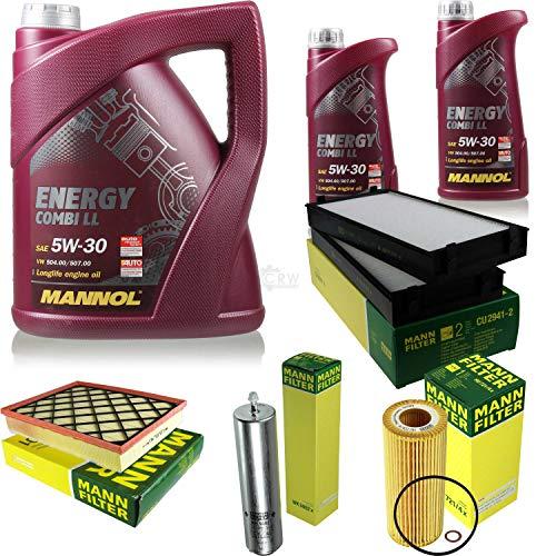 Paquete de inspección 7 litros Energy Combi LL 5W-30 + paquete de filtros MANN 10929800