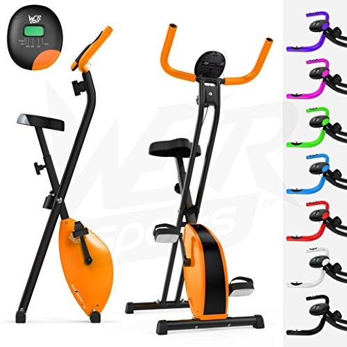 We R Sports Folding X-Bike Vélo d'appartement Mixte Adulte, Violet