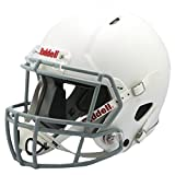 Riddell Victor Youth Football Helmet White/Gray ,Large