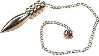 Myhealingworld 4 Ring Copper Metal Egyptian Healing Reiki Dowsing Metaphysical Pendulum.