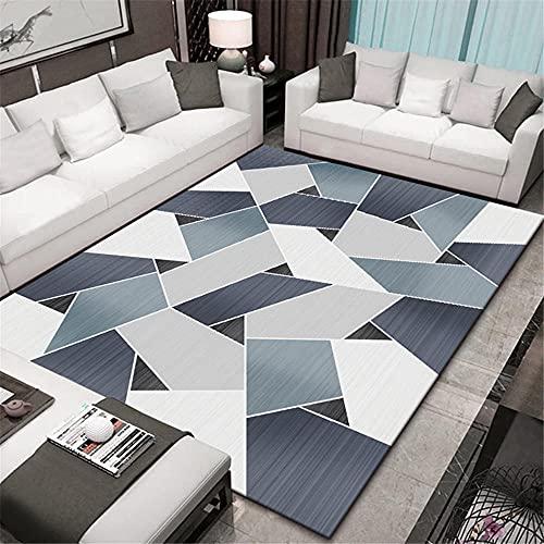 Muebles Sala De Estar Alfombras Bebes Multicolor geométrico Costura Moderna Sala de...