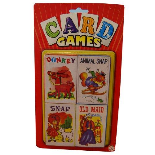 Kartenspiele Esel, aufsteckbar, altes Maid, aufsteckbar