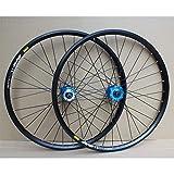 Accesorio de bicicleta de ejes de liberación rápid Rueda de bicicleta Láminas de doble pared de 24 pulgadas BMX Set de ruedas de bicicleta Conjunto de disco Freno de disco QR 8-10 Cassette de velocida