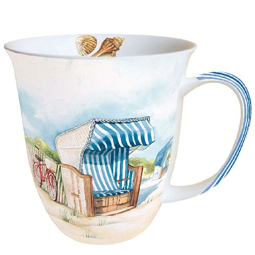 Ambiente Mug Tee/Kaffee Becher Day at The Beach ca. 0.4L