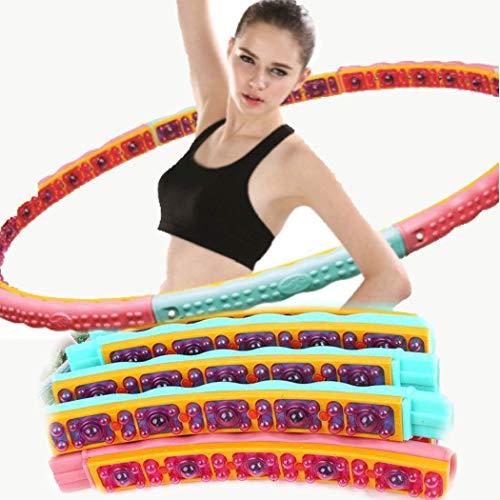 Health Hoop - koreanische Gewichtsverlust, 2,1 kg (Schritt 3), dynamische Magnettherapie-Massage für Training, Fitness-Workout, 2,1 kg.