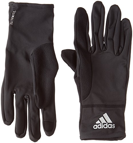 adidas Climalite Handschuhe, Black/Black/Reflective Silver, XL