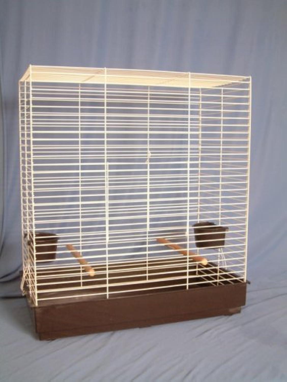 Pennine Olympus White Bird Cage (25 X 13.5 X 27.5 Ht)