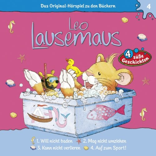 Leo Lausemaus will nicht baden audiobook cover art