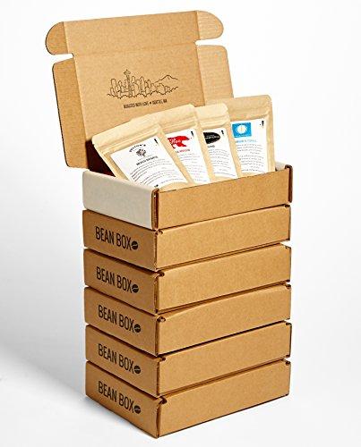Bean Box - Gourmet Coffee Sampler - Dark Roast -...