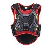 YaGFeng Protettore di Motocross Jacket Equipaggiamento Protettivo for Giubbotto Antiproiettile Protezione for Il Dorso del Torace Giacca di Protezione Sport (Size : L)