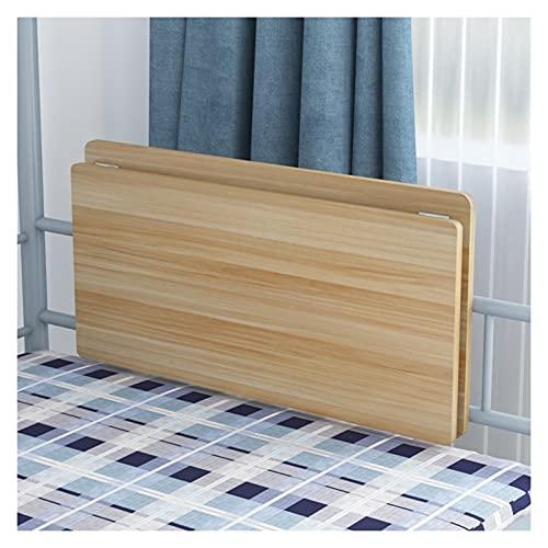 GHHZZQ Mesa Plegable Escritorio De Computadora Estante De Almacenamiento del Dormitorio Ahorro De Espacio Escritorio Flotante Fácil De Instalar (Color : A, Size : 60x30cm)