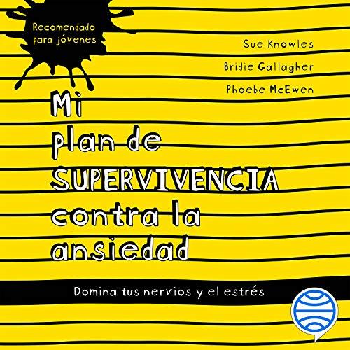 Diseño de la portada del título Mi plan de supervivencia contra la ansiedad