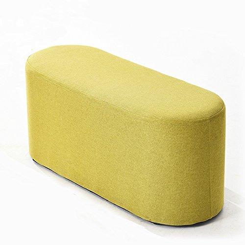LJHA Tabouret pliable Repose-pieds simple créatif / tabouret de sofa de chaise longue / tabouret de salon de bande / tabouret de queue de lit de chambre à coucher / changement tabouret de chaussures (4 couleurs facultatives) chaise patchwork ( Couleur : D , taille : 100CM )